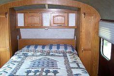 murphy bed? in bedroom of skoolie (grey hound bus conversion)