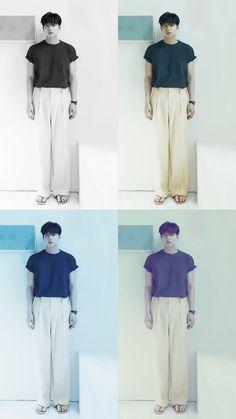 Gong Yoo, Pants, Wallpaper, Twitter, Cover, Fashion, Trouser Pants, Moda, Fashion Styles