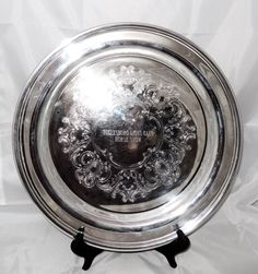 PURCHASED--Vintage Equestrian Silver Plate Presentation Trophy Tray by thymewarp on Etsy https://www.etsy.com/listing/219911558/vintage-equestrian-silver-plate