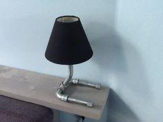 Lamp zelf gemaakt stoer