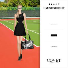 Covet Fashion, The Twenties, Skater Skirt, Calvin Klein, My Style, Skirts, Black, Dresses, Revenge