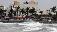 México: reportaron dos muertos por la llegada del huracán Katia
