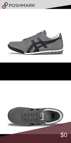 Ontisuka Tiger Shoe's Onitsuka Tiger (HN201) Ultimate 81 Vegan Collection👞👟Color Charcoal/Black👟Women's size 81/2 👟👞NIB NWT !! Onitsuka Tiger Shoes Athletic Shoes