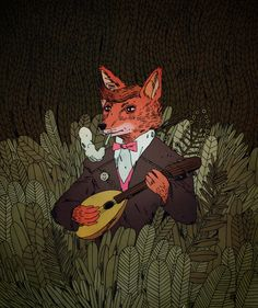 Jon Juarez ilustración: la noche del coyote