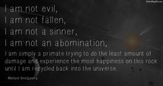 I am not an abomination.