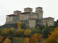 Torrechiara castle, Parma, Italy