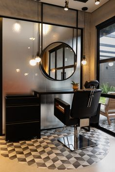 Hair Salon Interior, Spa Interior, Salon Interior Design, Home Salon, Salon Design, Modern Barber Shop, Best Barber Shop, Barber Shop Decor, Shabby Chic Salon