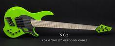 NG2 Ferrari Green Dark Glass Maple full 3