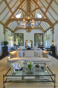 Wonderful Ceiling in this Family Room