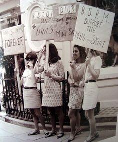 Mini skirts forever