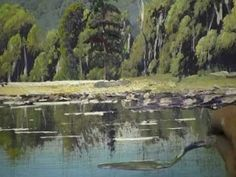 How to Paint Water and Reflections