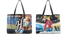 Forget #monograms #MaryKatrantzou has teamed up with #Matches to create Alphabet Bags ONLY 20 of each letter made!