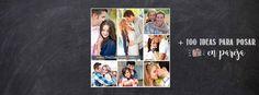 """Si necesitan ideas para inspirarse para la sesión de fotos casual de novios o preboda, para las fotos de la boda o para unas fotos de aniversario les comparto estas imágenes:     Las chicas de """"The Dating Divas"""" hicieron una recopilación de ideas para fotos en pareja en un post """"101 …"""