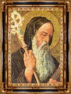 """Quote of the day – July 11 """"The first degree of humility is prompt obedience."""" ……………..St. Benedict of Nursia; The Rule of St. Benedict.Every Day is a Gift 