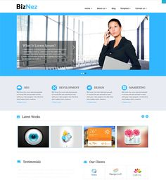 This free responsive business WordPress theme features a clean design, support for sticky posts and threaded comments, a featured image slider, RTL language support, unlimited colours, 5 homepage layout options, WooCommerce compatibility, and more.