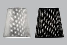 Perforated Aluminium and Perforated Black