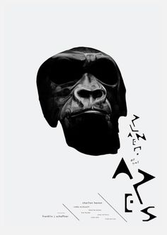 Planet of the apes - 1968 #graphicdesign #popculture #planetoftheapea