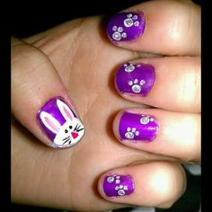 The Easter nails I did!