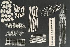Linocutting exercises for beginners. Master the basics of linocutting with these simple exercises that will set you on the road to being a lino cut master.