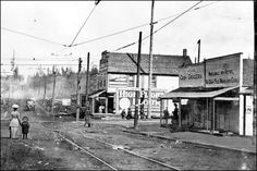 85th and Greenwood Avenue intersection, 1920