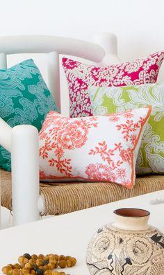 קאס אוסטרליה  pastel bright cushions