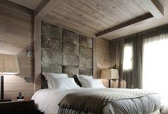 Nice contemporary take on chalet Chalet Zermatt, Ski Chalet, Courchevel 1850, Miramonti Boutique Hotel, Dispositions Chambre, Lodge Bedroom, Chalet Design, Design Hotel, Chalets