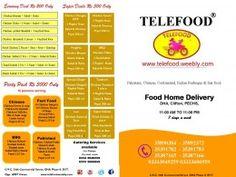 telefood menu Restaurant in Karachi