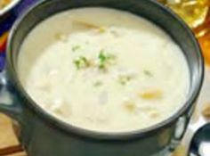 New England Clam Chowder Recipe - (note) I think this is the one I've tried before and it is yummy.