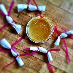 link to beeswax chewing gum recipe and ingredients distributors.