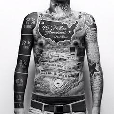 Infografia sobre los tatuajes