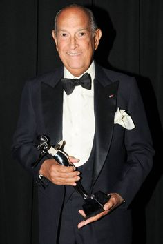 RIP to the legendary fashion designer, Oscar de la Renta.