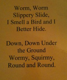 From The Hive: Ww worm day- preschool style