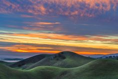 """East Bay Hills at Sunset"" by Marc Crumpler"