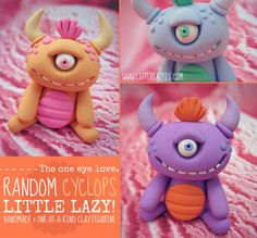 Random CYCLOPS Little Lazy by LittleLazies on Etsy, $16.00