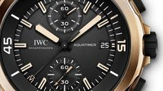 IWC - Aquatimer - dial - bezel - detail #watchdesign