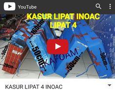 Video di atas adalah contoh kasur lipat inoac lipat 4. Untuk detail mengenai kasur lipat inoac bisa langsung KLIK pada vieo di atas