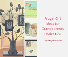 Frugal Gift Ideas for Grandparents Under $20