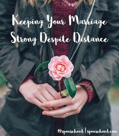 Keeping Your Marriage Strong Despite Distance  | www.spousehood.com