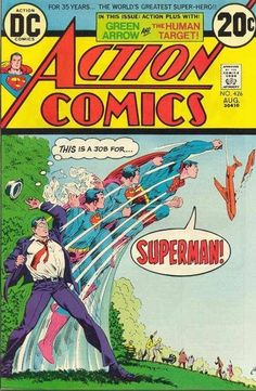 Action Comics cover by Nick Cardy