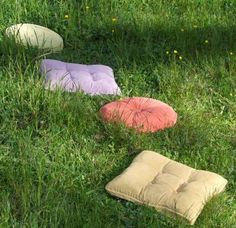 Pillow-look stepping stones soften your garden's look