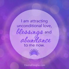 I am attracting unconditional love, blessings and abundance to me now. #affirmation #abundance #lawofattraction #loa #manifestation #prosperity #miracles #blessings Morning Inspiration, Daily Reminder, Happy Thursday, Blessings, S Quote, Positive Life, Healthy Mind, Blessed, Healthy Living