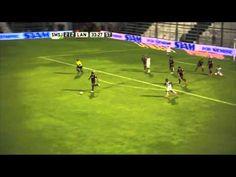 Argentine referee Pablo Díaz ruins a goal-scoring chance for San Martín de San Juan