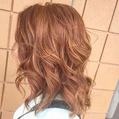 awesome Карамельный цвет волос (50 фото) — Темные и светлые оттенки Читай больше http://avrorra.com/karamelnyj-cvet-volos-foto/