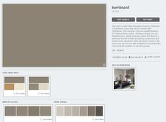 Benjamin moore barnboard richmond gold sparkling wine for Benjamin moore eco spec paint reviews