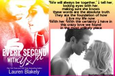 Always together  Every Second With You by Lauren Blakely
