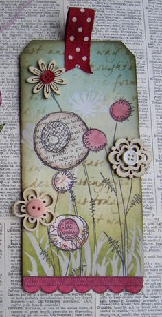 I really like JO FIRTH-YOUNG's artistic style. This bookmark is a sample of what she does. Her blog is here: jofirthyoung.blogspot.ca