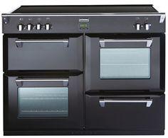 Stoves Richmond 1000 EI - 100 cm zwart fornuis met inductie kookplaat