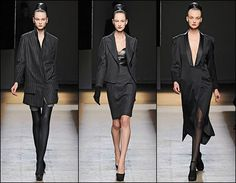 Yves St. Laurent suit style