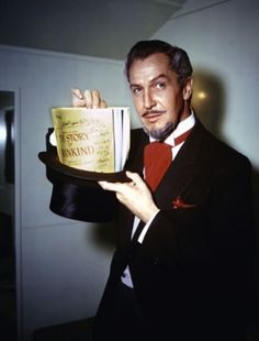 The Story of Mankind (1957) Publicity photo of Vincent Price (Mr. Scratch the Devil).