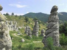 #Kuklica is a small village near Kratovo, in the Republic of #Macedonia. It is known for the hundreds of naturally formed stone pillars that resemble humans. The village has about 100 inhabitants.